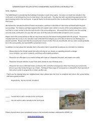 June 2012 Newsletter - Sonoran Desert Willow Estates