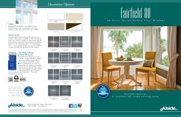 Fairfield 80 Series - Alside