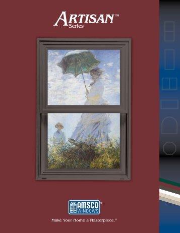 Download the Artisan Series brochure - AMSCO Windows