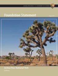 Foundation Statement - National Park Service