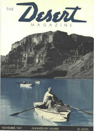 194711-DesertMagazin.. - Desert Magazine of the Southwest