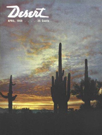 Fashion Notes - Desert Magazine of the Southwest