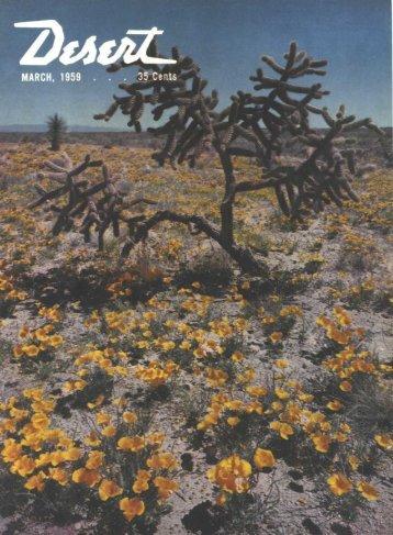 Desert Book - Desert Magazine of the Southwest