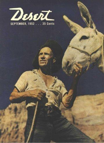 calico print - Desert Magazine of the Southwest