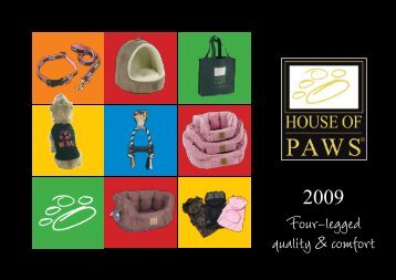 Four-legged quality & comfort - House Of Paws
