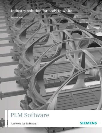Industry Solution for Body in White - Siemens PLM Software