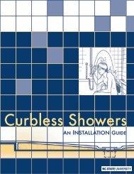Curbless Showers - North Carolina State University