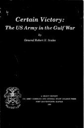 Certain Victory - Combined Arms Research Library (CARL) - U.S. Army