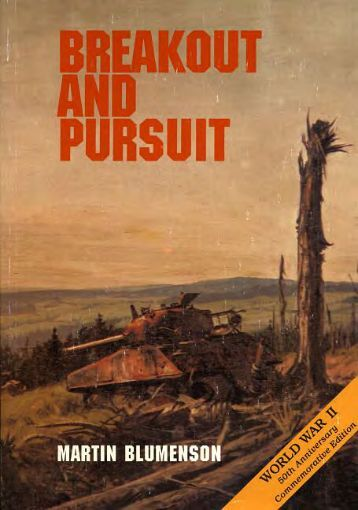 Breakout and Pursuit - US Army Center Of Military History