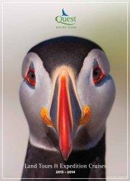 Land Tours & Expedition Cruises - Quest Nature Tours