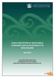 PUBLIC PERCEPTION OF NEWS MEDIA STANDARDS AND ACCOUNTABILITY IN NEW ZEALAND