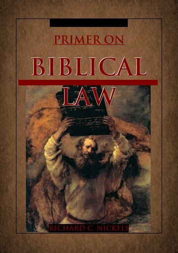 Biblical Law - Great White Desert