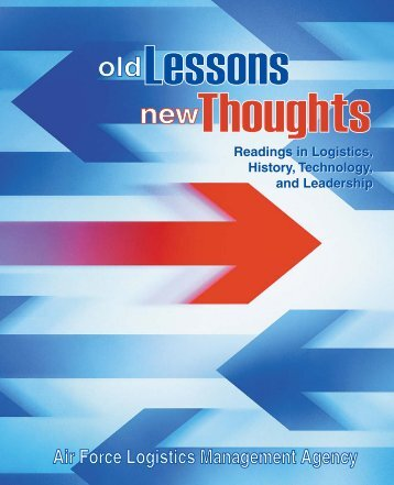 Old Lessons, New Thoughts - AF Logistics Management Agency