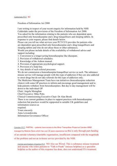 Survey of services John Perrott - APPGITA