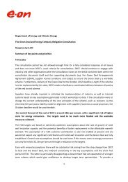 1 Department of Energy and Climate Change The Green Deal and ...