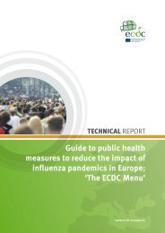 Guide to public health measures to - European Centre for Disease ...