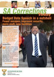 SA Corrections April08.pdf - Department of Correctional Services