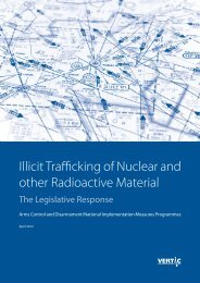 Illicit Trafficking of Nuclear and Other Radioactive Material