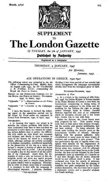 The London Gazette - Ibiblio