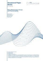 Occasional Paper Series - European Systemic Risk Board - Europa