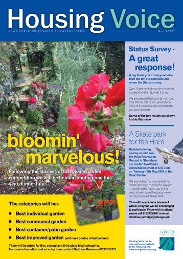 bloomin' marvelous! - Worthing Borough Council