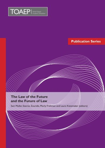 Publication Series The Law of the Future and the Future of ... - FICHL