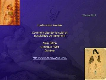 Dysfonction érectile - EPGL