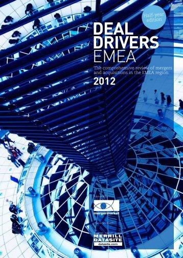 DEAL DRIVERS EMEA - Mergermarket