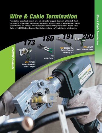 Wire & Cable Termination