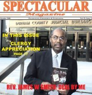 REV. JAMES W SMITH: DEAL BY ME - Spectacular Magazine