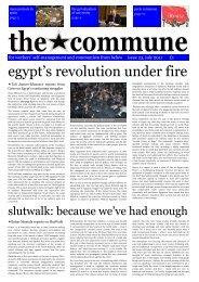 egypt's revolution under fire - Get a Free Blog