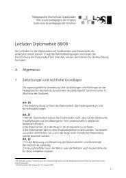 Leitfaden Diplomarbeit - phGR