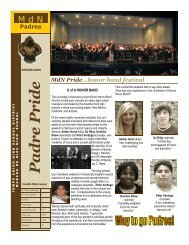 mdn newsletter Spring 09 - Tempe Union High School District