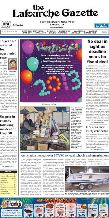 No deal in sight as deadline nears for fiscal deal - The Lafourche ...