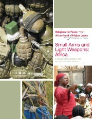 Small Arms and Light Weapons: Africa