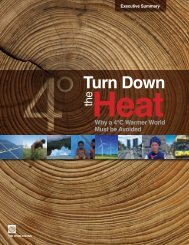 Turn Down the Heat - Climate Change - World Bank