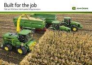 Self-Propelled Forage Harvesters Brochure - John Deere