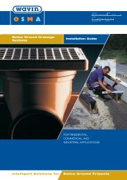 Below Ground Drainage Systems Installation Guide ... - Drain Center