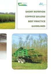 short rotation coppice willow best practice guidelines