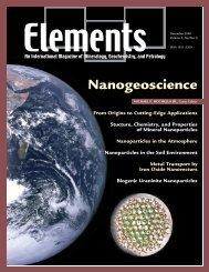 Nanogeoscience - Elements