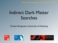 Indirect Dark Matter Searches - Desy