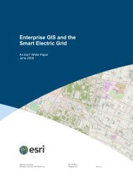 Enterprise GIS and the Smart Electric Grid - Esri