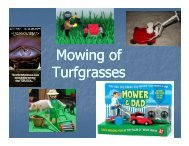 Mowing of Turfgrasses