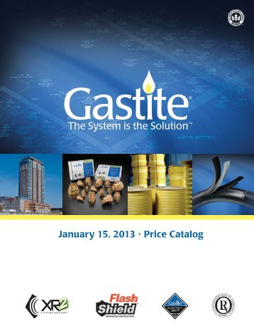 View Price Catalog - Gastite