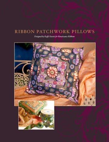 RIBBON PATCHWORK PILLOWS - LiveInternet.Ru