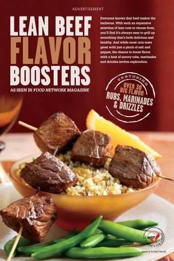 Rubs, maRinaDes & DRizzles - Brookshire Brothers