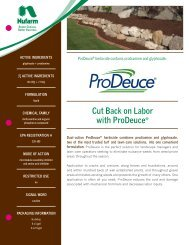 Cut Back on Labor with ProDeuce® - Nufarm