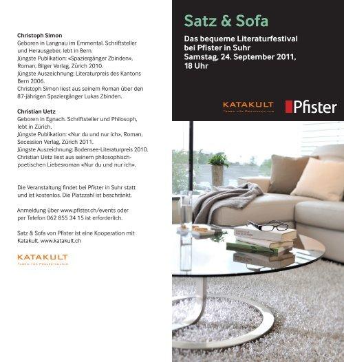 Satz & Sofa - Pfister