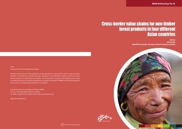 Cross-border NTFP value chains - International Network for Bamboo ...