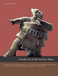Courtly Art of the Ancient Maya - National Gallery of Art